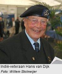 Veteraan Hans van Dijk