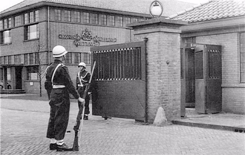 Oude poort jaren 50